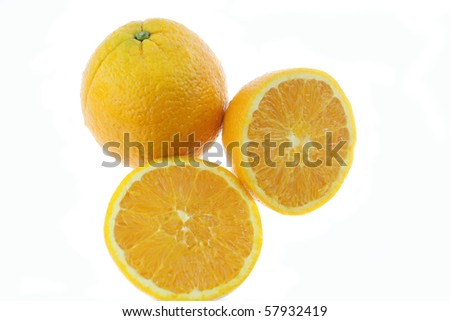 part of sweet mandarin lemon