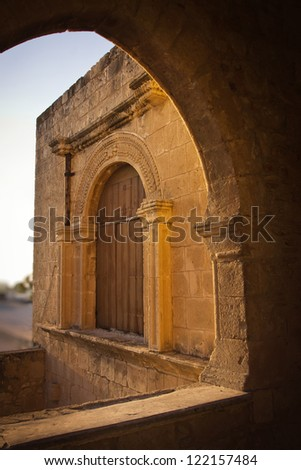 Part of the Agia Napa Medieval Monastery, Cyprus