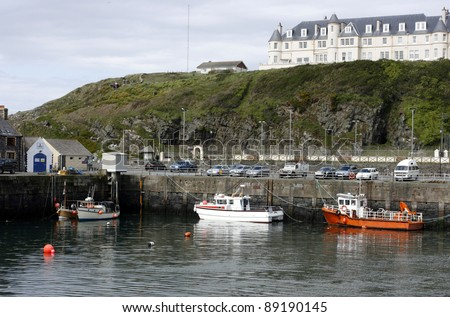 Part of the harbour at Port Patrick, Galloway, Scotland