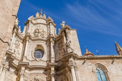 Part of the Metropolitan Cathedral-Basilica of the Assumption of Our Lady of Valencia