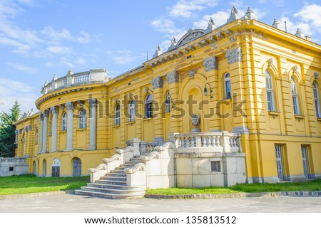 Part of the Szechenyi Medicinal Bath in Budapest