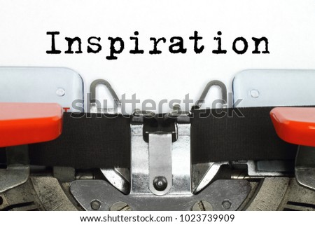 Part of typing machine with typed Inspiration word #1023739909