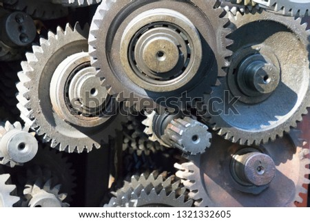 Old and Used Machinery Parts Images and Stock Photos - Page