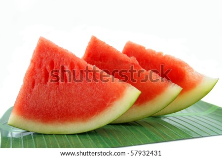 part of water melon slice