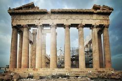 Parthenon, Acropolis in Athens, Greece
