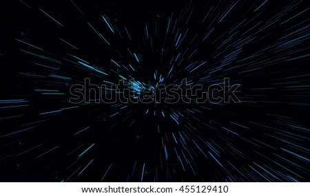 Particle or stars in outer space or wallpaper.