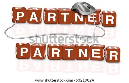 partner couple romance business partnership