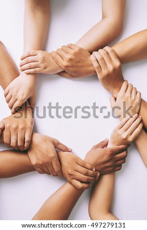 partnership and unity concept ...