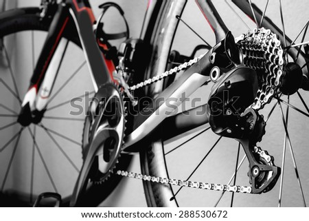 parts bicycle wheel, chain, cycling road bike frame