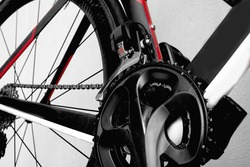 parts bicycle wheel, chain, frame road bike brake cycling