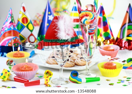 Party accessories for New Year Eve, birthday party or carnival