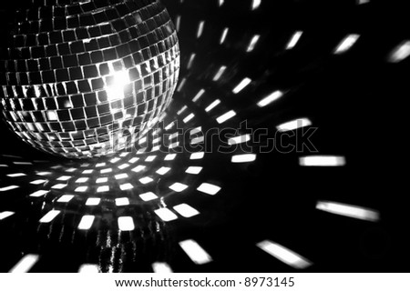 party ball light reflection backgrounds