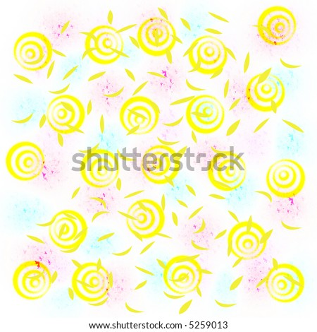 clip art balloons and confetti. stock photo : party alloons