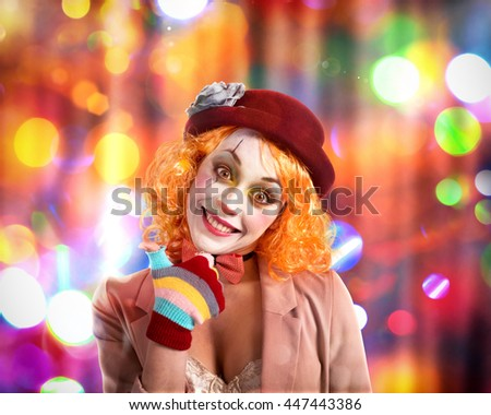 Party clown #447443386