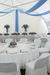 Party marquee tent