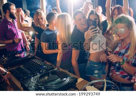 Party people taking selfie #199293749