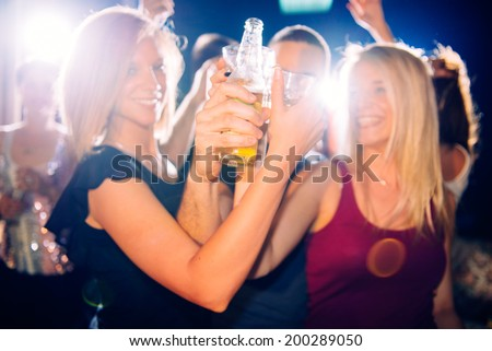 Party people toasting #200289050