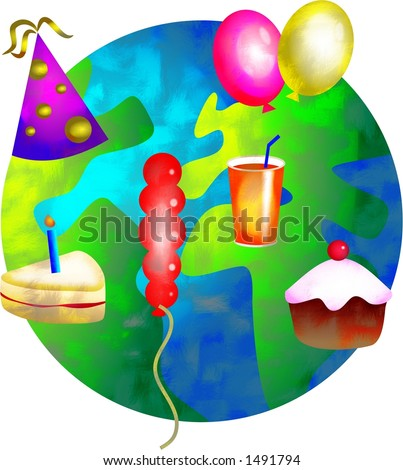 Party World Stock Photo 1491794 : Shutterstock