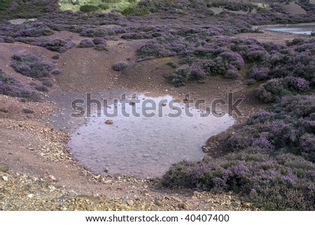 Parys Mountain an old copper mine in the heart of the Isle of Anglesey North Wales #40407400
