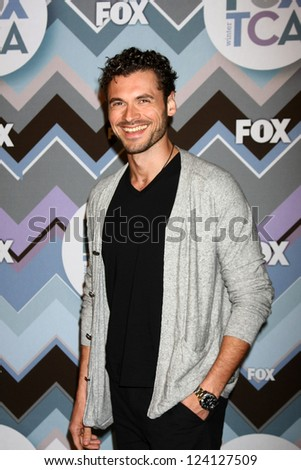 PASADENA, CA - JAN 8:  Adan Canto attends the FOX TV 2013 TCA Winter Press Tour at Langham Huntington Hotel on January 8, 2013 in Pasadena, CA