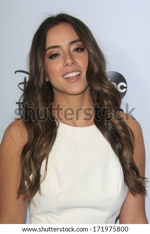 PASADENA, CA - JAN 17: Chloe Bennet at the ABC/Disney TCA Winter Press Tour party at The Langham Huntington Hotel on January 17, 2014 in Pasadena, CA