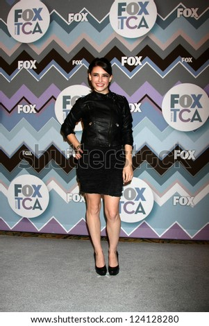 PASADENA, CA - JAN 8:  Daniela Bobadilla attends the FOX TV 2013 TCA Winter Press Tour at Langham Huntington Hotel on January 8, 2013 in Pasadena, CA