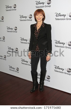 PASADENA, CA - JAN 17: Frances Fisher at the ABC/Disney TCA Winter Press Tour party at The Langham Huntington Hotel on January 17, 2014 in Pasadena, CA
