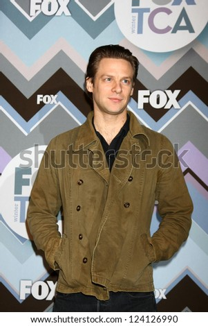 PASADENA, CA - JAN 8:  Jacob Pitts attends the FOX TV 2013 TCA Winter Press Tour at Langham Huntington Hotel on January 8, 2013 in Pasadena, CA
