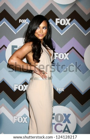 PASADENA, CA - JAN 8:  Naya Rivera attends the FOX TV 2013 TCA Winter Press Tour at Langham Huntington Hotel on January 8, 2013 in Pasadena, CA