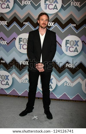 PASADENA, CA - JAN 8:  Shaun Ashmore attends the FOX TV 2013 TCA Winter Press Tour at Langham Huntington Hotel on January 8, 2013 in Pasadena, CA