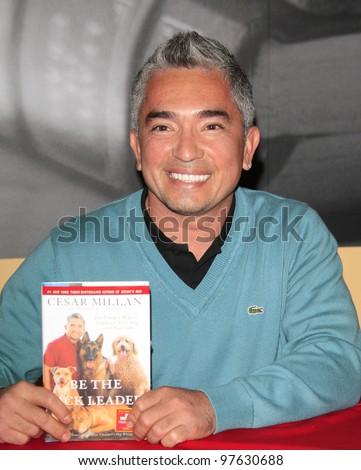 PASADENA, CA - NOV 27: Cesar Millan 'The Dog Whisperer' at a book signing event on November 27, 2007 in Pasadena, California
