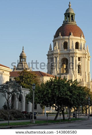 Pasadena City Hall. Pasadena, California, USA.