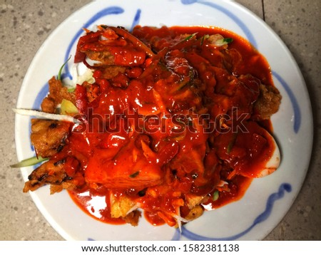 Pasembur a popular street food snack from Penang, Malaysia. Pasembur without gravy. Another name for this is Rojak, simply put it's like a Malaysian Salad