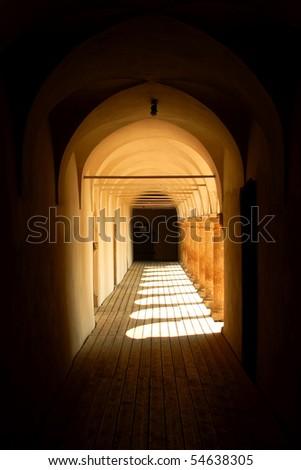 Passage in Seggau castle, Austria