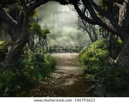 Passage to mysterious castle