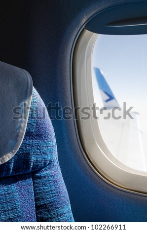 Passenger seat in an airplane