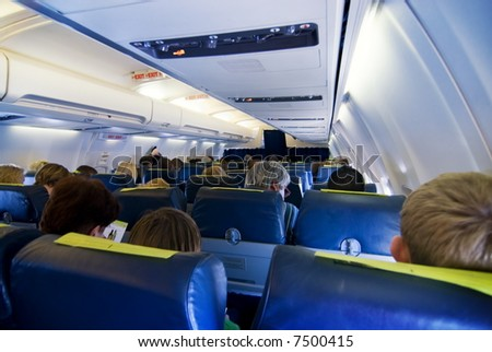 Passengers in aircraft