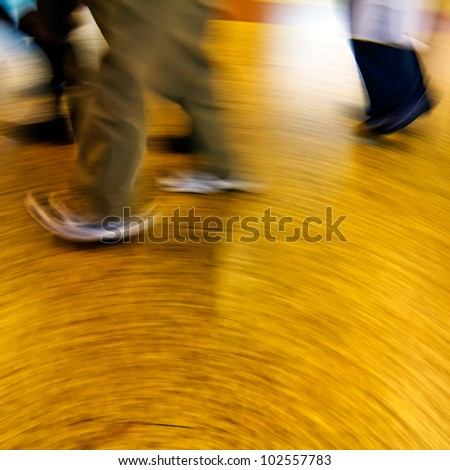 Passengers in the subway station #102557783