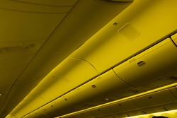 Passengers Overhead Storage in an Airplane Cabin