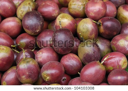 Passion Fruit background