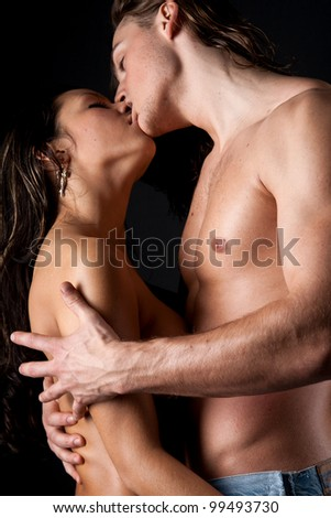 stock photo : Passionate married couple having sex. Save to a lightbox ▼