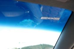 Passive rfid electronic tag car window