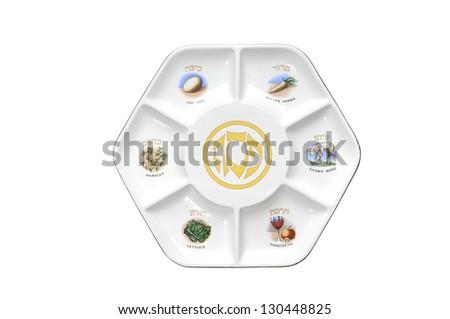Passover,Seder plate.