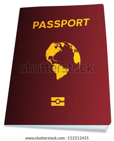 Passport, bitmap copy.
