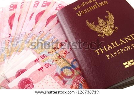 Passport Chinese money