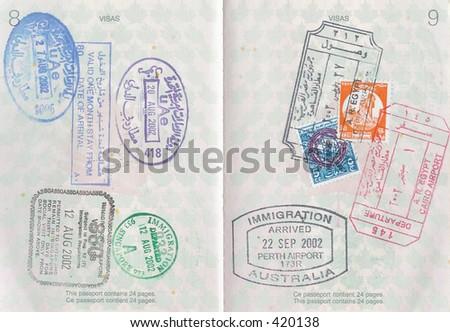 Passport Stamps