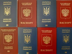Passports Russian and Ukraine, documents for travel (dual citizenship)