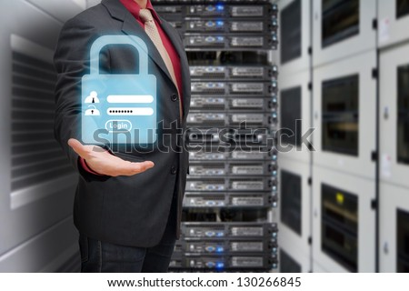 Password security for safety in data center room