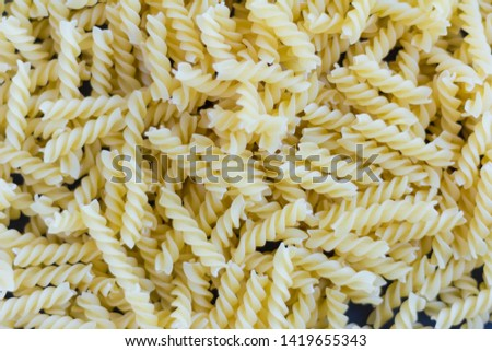 pasta, Pasta background, pasta spiral