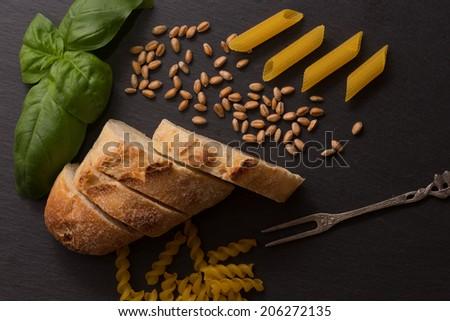 Pasta Stillleben Stock foto ©